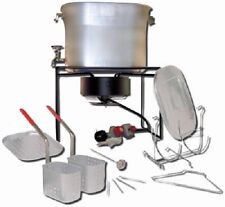 Metal Fusion 2864 Outdoor Chef's Hot Tub 33,000 btu Propane Cooker Deep Fryer