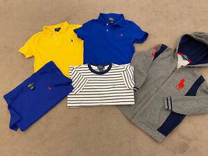 Boys Ralph Lauren Age 6 Tshirt Bundle & Jacket