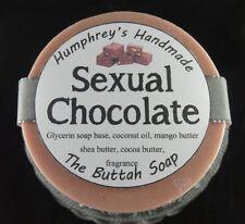 SEXUAL CHOCOLATE Soap, Fudge Amazing Buttah Soap, Cocoa Shea Mango Butter