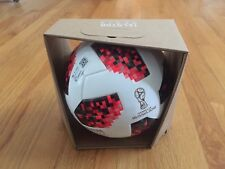 $160 Adidas Telstar World Cup 2018 Russia Official Red Match Ball Sz 5 In Box