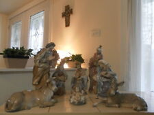 LLADRO NATIVITY 8 PIECE SET OLD RARE COMPLETE w/ BOXES MINT CONDITION FAST SHIP!