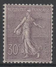 "FRANCE  STAMP TIMBRE N° 133 "" SEMEUSE LIGNEE 30c LILAS 1903 "" NEUF xx TTB  K802"