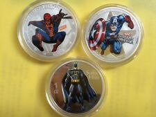 1 OZ MARVEL DC SPIDERMAN CAPTAIN AMERICA BATMAN SUPER HERO NOVELTY COIN 2018