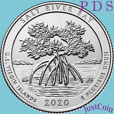 2020 PDS SALT RIVER BAY (US VIRGIN) NATIONAL PARK THREE QUARTERS SET