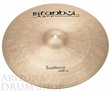 "Istanbul AGOP Traditional 22"" DARK Ride 2,427 gram (DR22)  NEW - In Stock!"