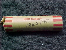 1945 D AND P LINCON WHEAT PENNY ROLL