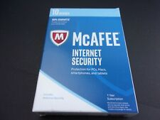 McAfee MIS17ETGORAA 2017 Total Protection 10 Devices Internet Security