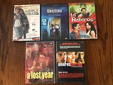 Lot Of 5 Spanish Language Movies - Dvd - Perfume de violetas, Amores Perros +