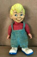 "Vintage Beany Doll Mattel 15"" Non Talking string cartoon 1960s cecil plush boy"