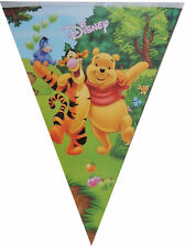 WINNIE THE POOH BANNER BUNTING GARLANDS BIRTHDAY PARTY SUPPLIES DECORATION