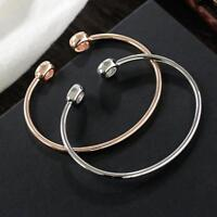 ular Charm Women Open Crystal Rhinestone Cuff Bracelet Bangle Jewelry Gift.