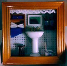 Reutter Porzellan toilette bagno quadro picture box bano baf salle de bain spule