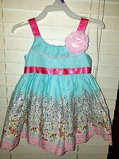 New Jessica Ann Baby Girl Dress Summer size 12 months Beautiful