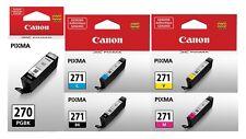 GENUINE Canon PGI-270 CLI-271 Setup Ink Cartridge 5-Pack