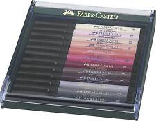 Faber Castell Tuschestift PITT artist pen brush 12er  Etui Hauttöne