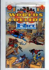 Worlds Collide #1 (Jul 1994, DC)  HIGH GRADE IN POLY BAG W/ STICKERS