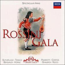 Rossini Gala 10 Spectacular Arias 75 Minutes Shrink Wrapped Decca CD