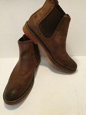 Mens Brogues Brown Boots Next Size 11