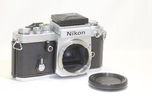 Nikon F2 SLR Film Camera Body Only DW-1 Waist Level Finder Made In Japan