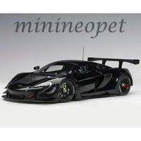 AUTOart 81644 MCLAREN 650S GT3 1/18 MODEL CAR GLOSS BLACK / MATT BLACK ACCENTS
