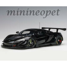 AUTOart 81644 MCLAREN 650S GT3 1/18 MODEL CAR GLOSS BLACK / MATT BLACK ACCENTS