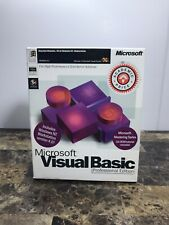 Microsoft Visual Basic 5.0 Professional Edition 1196 Part No 93012 *NEW*
