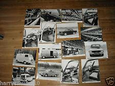 1966 Renault Gordini Estafette Carvelle 4 8 12 16 Original Press Photograph FPP2
