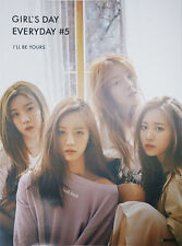 GIRL'S DAY GIRLS DAY EVERYDAY #5 5th Mini Album Original Official FOLDED POSTER