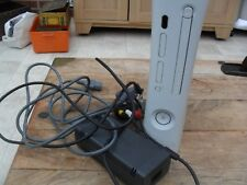 x-box 360 console and power supply