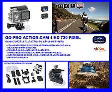 Telecamera Gopro Go Pro per Auto-Bici-Moto-Impermeabile per Sport - Video Cam