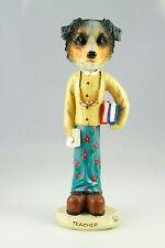 Female Teacher Aussy Shepherd-See Interchangeable Breeds & Bodies @ Ebay Store