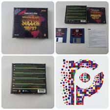 Sensible World of Soccer 96/97 un jeu pour l'Amiga testé et de travail très bon état