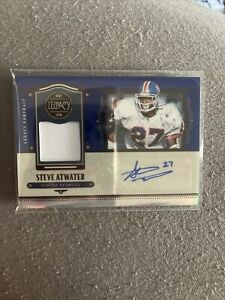 2021 Legacy Steve Atwater Patch Auto #3/25 Broncos HOF