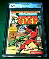 Marvel Premiere Iron Fist #23 Aug 1975 CGC NM 9.4 WHTE Marvel 1st App Warhawk