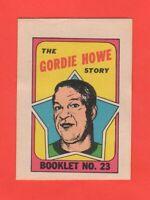 1971-72 O-Pee-Chee OPC  # 23 Gordie Howe  Nrmnt+