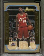 2003-04 Bowman Gold #123 LeBron James Rookie Card