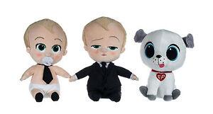 """UK NEW OFFICIAL 8"""" DREAMWORKS THE BOSS  SOFT TOYS BABY PLUSH Doll Little Man K1"""