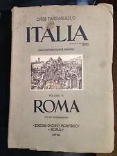 1937 LUIGI PARPAGLIOLO - ITALIA -VOLUME 5° ROMA