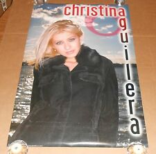 Christina Aguilera Poster 1999 Original 23x35
