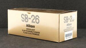 Nikon SB-26 Flash