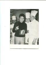 PHOTOGRAPHIE ORIGINALE de Pierre PERRET en 1964 CASINO SAINT-MALO CUISINE