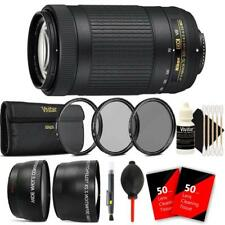 Nikon AF-P DX NIKKOR 70-300mm f/4.5-6.3G ED VR Lens & Ultimate Accessory Bundle