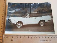 Foto Photo Oldtimer 1964 Moretti 850 Spyder Turin Autosalon Motor Show