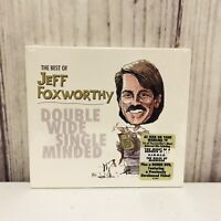 The Best of Jeff Foxworthy Double Wide Single Minded CD & DVD New