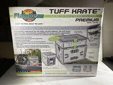 Flambeau Outdoors 455Tkp Multi-Purpose Premium Tuff Krate with Dual Rod Holders