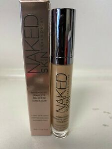 URBAN DECAY NAKED SKIN WEIGHTLESS COMPLETE COVERAGE CONCEALER MED/LIGHT WARM