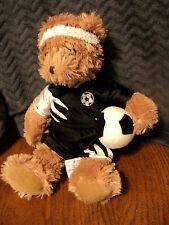 "Russ Kix Plush Soccer Bear 11"""