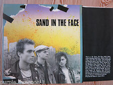 SAND IN THE FACE - Same  LP Vinyl   Includes printed inner jacket  Twisted Rec.