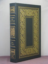 1st, signed by the author, Climbing the Mountain by Kirk Douglas, Easton Press