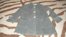 BOUTIQUE LUNA LUNA COPENHAGEN 3T GREEN THIN CORD JACKET TOP